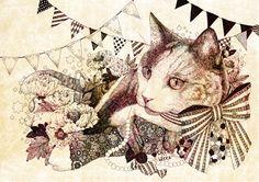 fopperycat by 杏 チアキ | CREATORS BANK http://creatorsbank.com/karamomo/works/229655