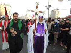 Christians share our big event and walk to my leader IMAM HUSSEIN
