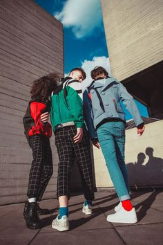 Carl King at AMCK, Daniel Elijah at PRM and Michael Moon, photographed by Annie Lai and styled by Candice Lo with pieces from Mai Gidah, Topman, #The krag, Asos and adidas, in exclusive for