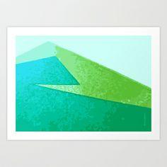 Mountain Art Print by Ulrika Bygge - $19.76