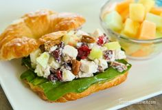 Turkey Salad Sandwich from Thanksgiving Leftovers