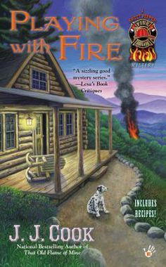 """Playing with fire"" by J. J. Cook (2: ""Sweet Pepper fire brigade mystery"") [2015]"