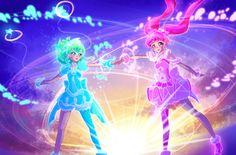 Manga Anime, Anime Art, Glitter Force, Shining Star, Pretty Cure, Magical Girl, Shoujo, Twinkle Twinkle, Cat Ears