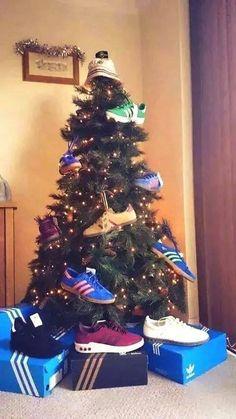adidas Christmas tree