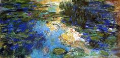 The Water-Lily Pond by Claude Monet (France)