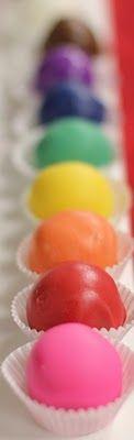 cake de couleur