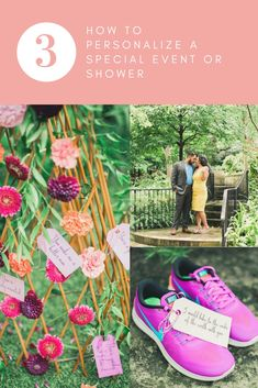 How to personalize a special event or shower- 3 easy steps to follow!