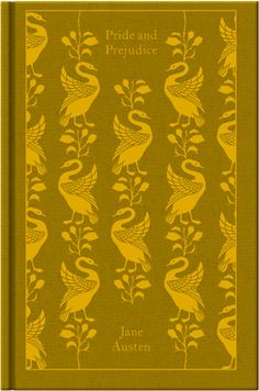 Pride and Prejudice by Jane Austen. Penguin's Clothbound Classics with cover design by Coralie Bickford-Smith.