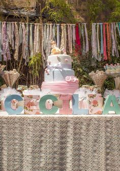 Shabby chic Birthday Party Ideas | Photo 1 of 55 | Catch My Party