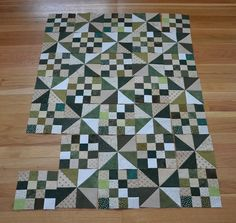 Michelle's Quilts & Stuff: 16 Patch & Pinwheels