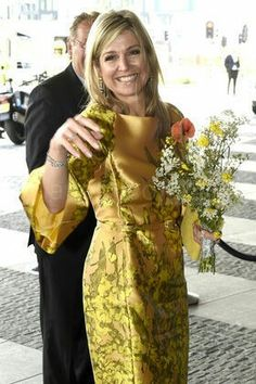 AP547284_022 Queen Maxima Attends The Pension Federation Anniversary - The Hague 17/5/2016