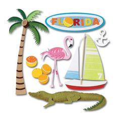 Jolee's Boutique Stickers -- Florida