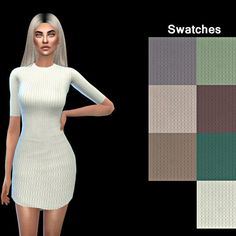 Leo 4 Sims: Tight Dress • Sims 4 Downloads