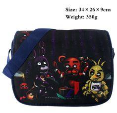 Five Nights at Freddy's bag canvas Shoulder Bag messager School bag Cosplay #Affiliate