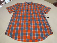 Men's Tommy Hilfiger shirt L Classic Fit button up 7865303 Iced Papaya 870 #TommyHilfiger #ButtonFront