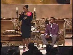 Yes, ma'am! Miss Juanita Bynum gets real and tells the church about the time she picked up a brick during an argument with her husband.