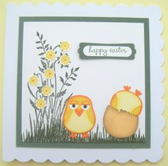Kate's Krafts: Owl punch flower bunch fr SU just believe stamp set