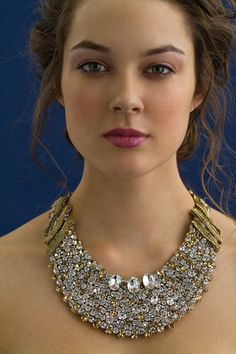 Rita Vinieris' Rivini necklaces are fit for a princess, stunning, glamor, jewelry, necklace, wedding, bridal