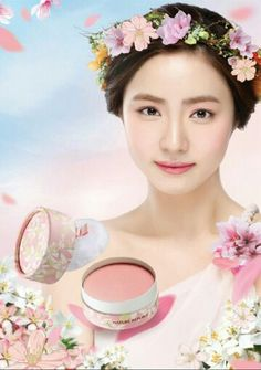 For Spring Nature Republic has just introduced their new Provence Blossom collection, which is an extension to their previous Provence line. The lovely Shin Se Kyung acts as the spokesmodel for this Nature Republic makeup collection. Korean Beauty, Asian Beauty, Korean Wedding Makeup, Shin Se Kyung, Beauty Makeup, Hair Beauty, Korean Make Up, Nature Republic, Spring Nature