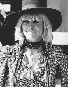 Anita Pallenberg in Morocco, 1967. Cute picture of her.