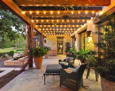 These free pergola plans will help you build that much needed structure in your backyard to give you shade, cover your hot tub, or simply define an outdoor space into something special. Building a pergola can be a simple to… Continue Reading → Pergola Lighting, Outdoor Decor, Patio Design, Backyard Lighting, Pergola Plans, Deck Lighting, Outdoor Design, Dream Backyard