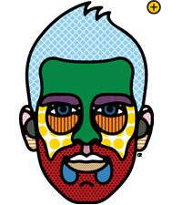 Turkish Airlines Passenger Portraits...I love this art style. Done by Craig Redman