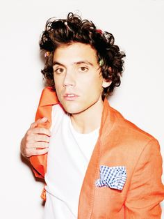 As much as I love Mika, I think I will steal his orange jacket <3
