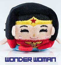 "DC Comics Kawaii Cubes 2.25"" Plush: Wonder Woman - Small plush measures 2.5 x…"