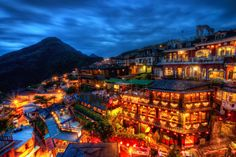 Hayao Miyazaki's inspiration for Spirited Away: the town of Jiufen, Taiwan - Imgur