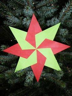 Google Afbeeldingen resultaat voor http://www.knutselopdrachten.nl/afbeeldingen/kerstster%2520vouwen/Kerstster%2520vouwen.JPG