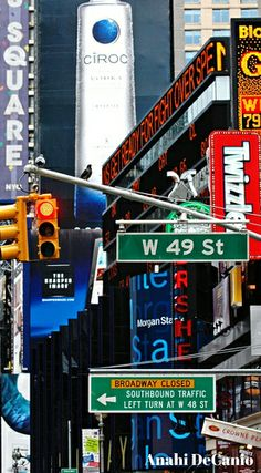 NYC Times Square at 49th World Cities, Best Cities, Ansel Adams, Photographie New York, Hampshire, Idaho, Wyoming, Arkansas, New York Landmarks