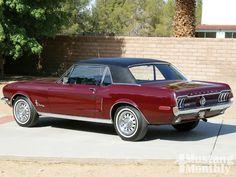 1968 mustang | 1968 Mustang Sprint Backview Photo 1