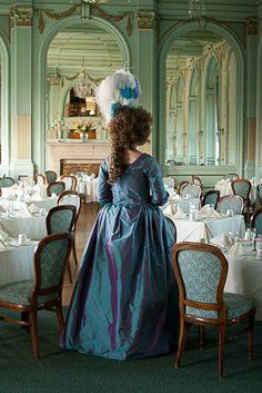 1780s Teal Gown by aimeekitty.deviantart.com on @deviantART