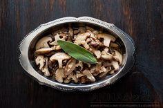 Shiitake Mushrooms in Sage Butter Sauce