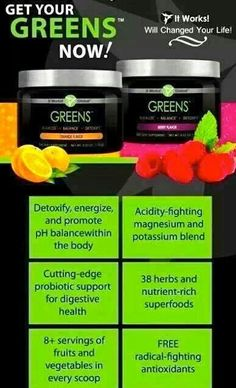Healthy life? Try Greens!!