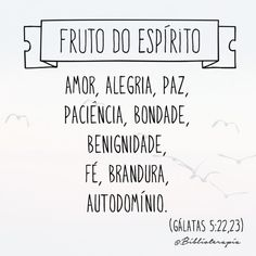 Gálatas 5:22;23
