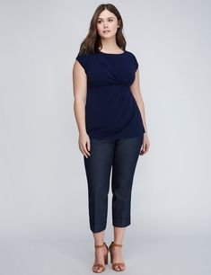 Simply Chic Drapey Tee (original price, $34.95) available at #Maurices