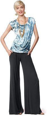 Italian-inspired Palazzo pants - soft, flowy and easy to wear!