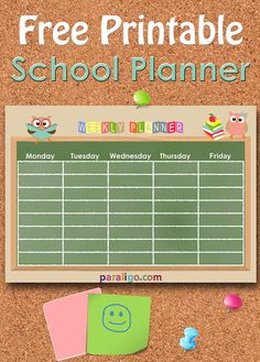 #Printable #School #planner