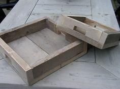 steigerhout bakjes