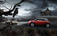 This MINI Hatch isn't scared of the dark.