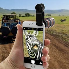 Get this premium released HD Zoom Lens for your smartphone and get the pleasure of the pro DSLR cameras for a fraction of the price! With HD Zoom Lens, yo Big Camera, Camera Rig, Camera Hacks, Mobile Lens, Zoom Hd, Expensive Camera, Photo Lens, Camera Equipment, All Smartphones