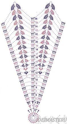 photo from album дуплет 185 Crochet Doily Diagram, Crochet Stitches Patterns, Crochet Chart, Crochet Motif, Crochet Doilies, Crochet Lace, Knitting Patterns, Lampe Crochet, Crochet Fabric