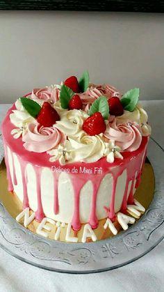 Red Birthday Cakes, Food, Food Porn, Eten, Meals
