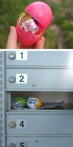 mail an easter egg