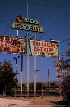 Abandoned Truckstop - Wickett, Texas -McClain's Truck Stop by ap0013, via Flickr