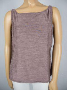 LULULEMON Purple Shirt 14 L Tank Stretch Multi Tone Walk Run Yoga Casual Top
