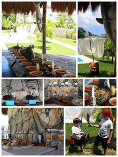 Pirate Party Tablescapes and Decorations