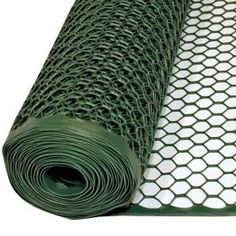 3 ft. x 25 ft. Green Poultry Fence-090786 at The Home Depot 19.77-above chicken run- use as hawk netting
