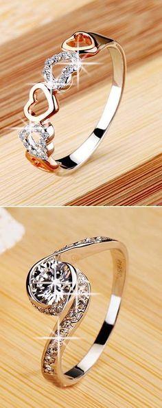 bridal diamond styles ♥✤ | KeepSmiling | BeStayClassy Más Más